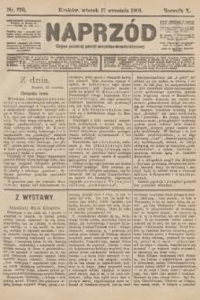 Naprzód : organ polskiej partyi socyalno-demokratycznej. 1901, nr255