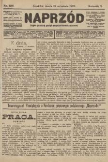 Naprzód : organ polskiej partyi socyalno-demokratycznej. 1901, nr256
