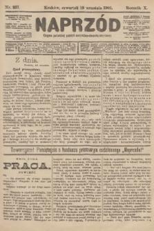 Naprzód : organ polskiej partyi socyalno-demokratycznej. 1901, nr257