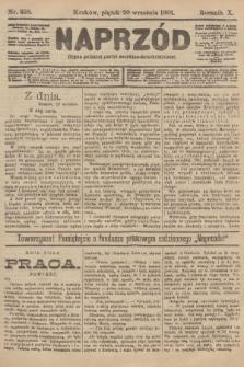 Naprzód : organ polskiej partyi socyalno-demokratycznej. 1901, nr258
