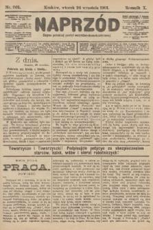 Naprzód : organ polskiej partyi socyalno-demokratycznej. 1901, nr262