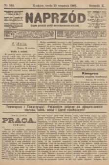 Naprzód : organ polskiej partyi socyalno-demokratycznej. 1901, nr263