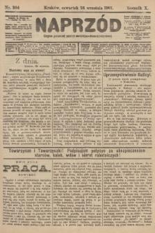 Naprzód : organ polskiej partyi socyalno-demokratycznej. 1901, nr264