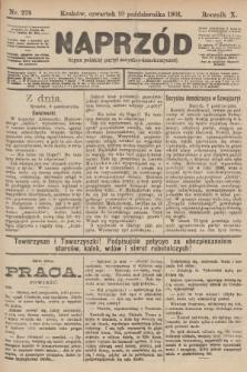 Naprzód : organ polskiej partyi socyalno-demokratycznej. 1901, nr278