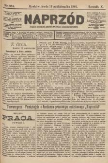Naprzód : organ polskiej partyi socyalno-demokratycznej. 1901, nr284