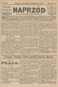 Naprzód : organ polskiej partyi socyalno-demokratycznej. 1901, nr285