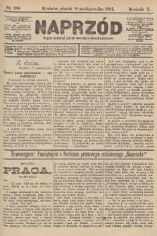 Naprzód : organ polskiej partyi socyalno-demokratycznej. 1901, nr286