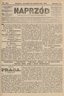 Naprzód : organ polskiej partyi socyalno-demokratycznej. 1901, nr292