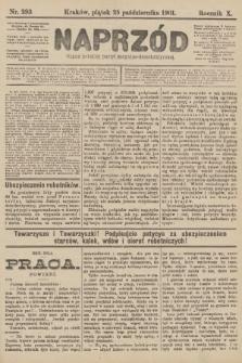 Naprzód : organ polskiej partyi socyalno-demokratycznej. 1901, nr293