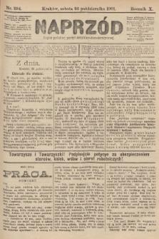 Naprzód : organ polskiej partyi socyalno-demokratycznej. 1901, nr294