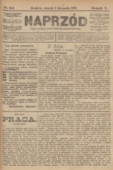 Naprzód : organ polskiej partyi socyalno-demokratycznej. 1901, nr304