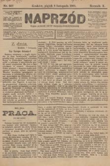 Naprzód : organ polskiej partyi socyalno-demokratycznej. 1901, nr307 [nakład pierwszy skonfiskowany]