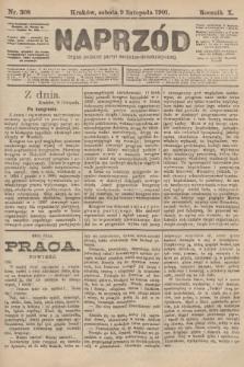 Naprzód : organ polskiej partyi socyalno-demokratycznej. 1901, nr308