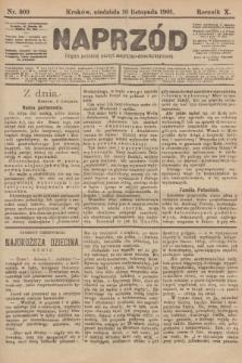 Naprzód : organ polskiej partyi socyalno-demokratycznej. 1901, nr309