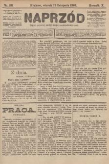 Naprzód : organ polskiej partyi socyalno-demokratycznej. 1901, nr311