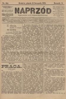 Naprzód : organ polskiej partyi socyalno-demokratycznej. 1901, nr314