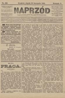 Naprzód : organ polskiej partyi socyalno-demokratycznej. 1901, nr321