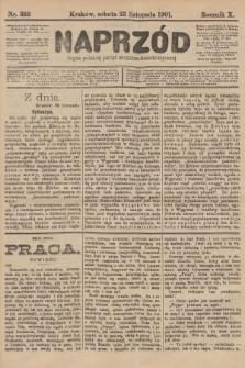 Naprzód : organ polskiej partyi socyalno-demokratycznej. 1901, nr322