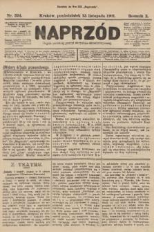 Naprzód : organ polskiej partyi socyalno-demokratycznej. 1901, nr324