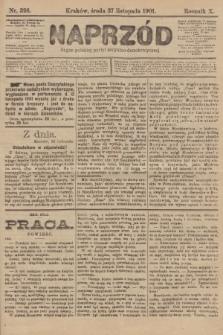 Naprzód : organ polskiej partyi socyalno-demokratycznej. 1901, nr326 [nakład pierwszy skonfiskowany]