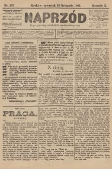 Naprzód : organ polskiej partyi socyalno-demokratycznej. 1901, nr327