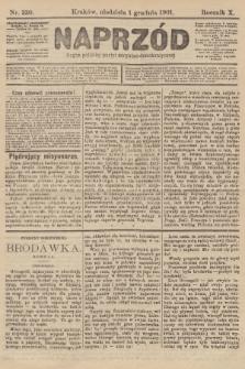 Naprzód : organ polskiej partyi socyalno-demokratycznej. 1901, nr330