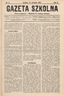 Gazeta Szkolna : pismo krytyczne. 1907, nr9