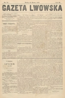 Gazeta Lwowska. 1908, nr70