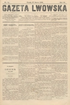 Gazeta Lwowska. 1908, nr71