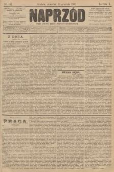 Naprzód : organ polskiej partyi socyalno-demokratycznej. 1901, nr341 [po konfiskacie nakład drugi]