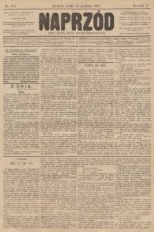 Naprzód : organ polskiej partyi socyalno-demokratycznej. 1901, nr354