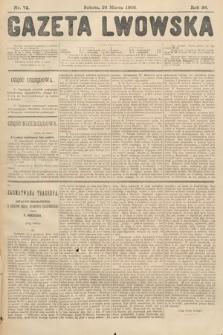 Gazeta Lwowska. 1908, nr72