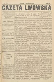 Gazeta Lwowska. 1908, nr78