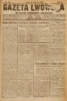 Gazeta Lwowska. 1924, nr133