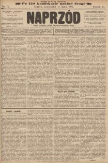Naprzód : organ polskiej partyi socyalno-demokratycznej. 1902, nr75 (po konfiskacie nakład drugi)