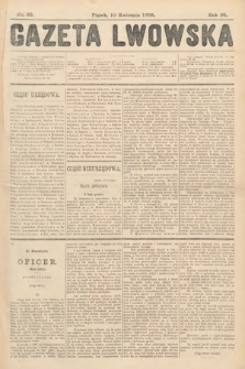 Gazeta Lwowska. 1908, nr83