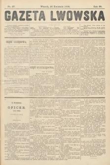Gazeta Lwowska. 1908, nr97