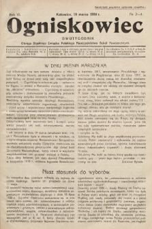 Ogniskowiec : dwutygodnik Okręgu Śląskiego Związku Polskiego Nauczycielstwa Szkół Powszechnych. 1930, nr2