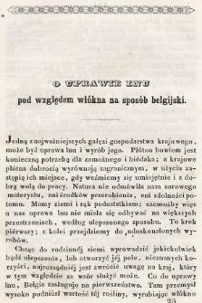 Roczniki Gospodarstwa Krajowego. R. 4, 1845, T. 7, nr 2