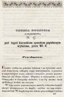 Roczniki Gospodarstwa Krajowego. R. 4, 1846, T. 8, nr 2