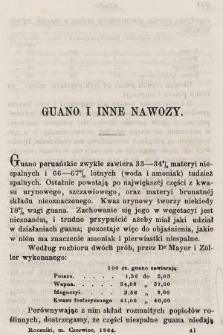 Roczniki Gospodarstwa Krajowego. R. 22, 1864, T. 55, poszyt [3]