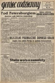 Goniec Codzienny. 1941, nr33