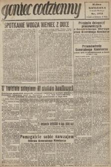 Goniec Codzienny. 1942, nr243