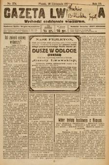 Gazeta Lwowska. 1924, nr274