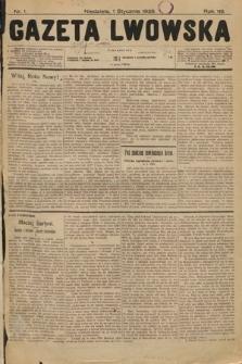 Gazeta Lwowska. 1928, nr1