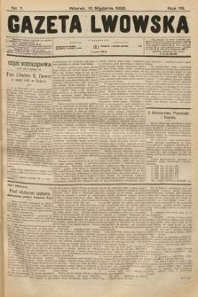 Gazeta Lwowska. 1928, nr7