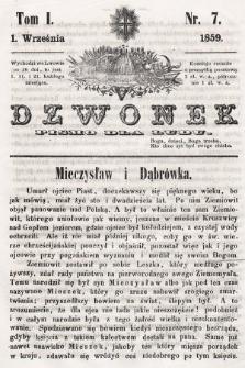 Dzwonek : pismo dla ludu. T. 1, 1859, nr7
