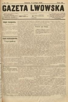 Gazeta Lwowska. 1928, nr34