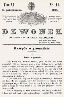 Dzwonek : pismo dla ludu. T. 11, 1864, nr11