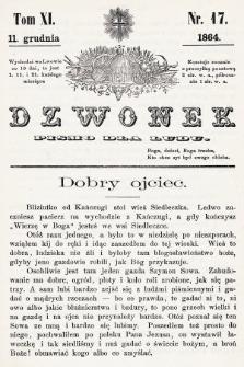 Dzwonek : pismo dla ludu. T. 11, 1864, nr17